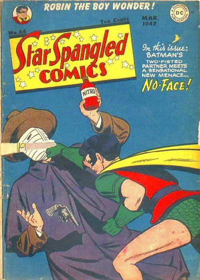 Cover for Star Spangled Comics (DC, 1941 series) #66