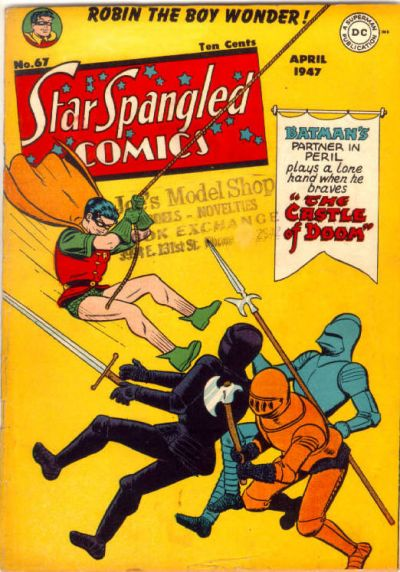 Cover for Star Spangled Comics (DC, 1941 series) #67