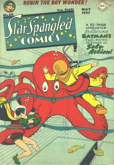 Cover for Star Spangled Comics (DC, 1941 series) #68