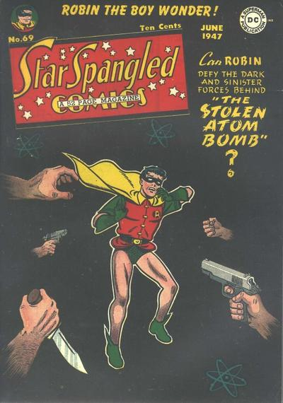 Cover for Star Spangled Comics (DC, 1941 series) #69