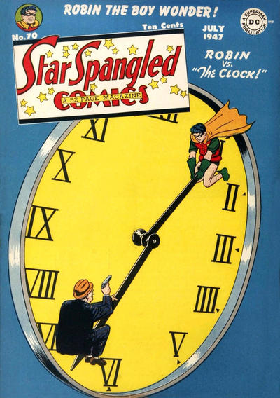 Cover for Star Spangled Comics (DC, 1941 series) #70
