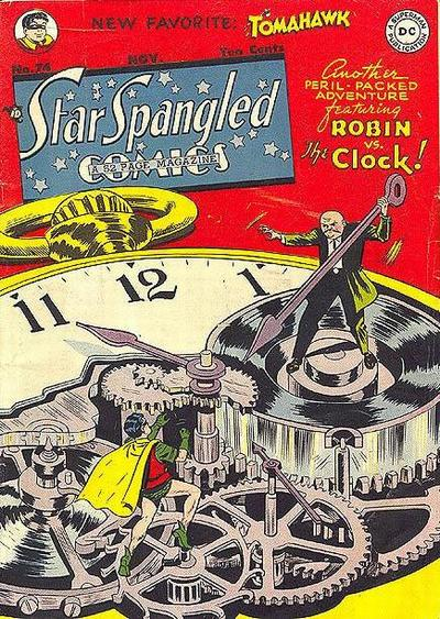 Cover for Star Spangled Comics (DC, 1941 series) #74