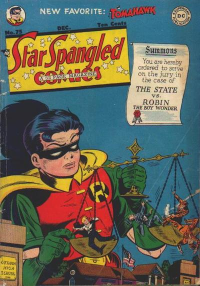 Cover for Star Spangled Comics (DC, 1941 series) #75