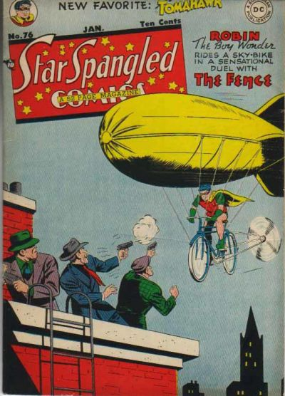Cover for Star Spangled Comics (DC, 1941 series) #76