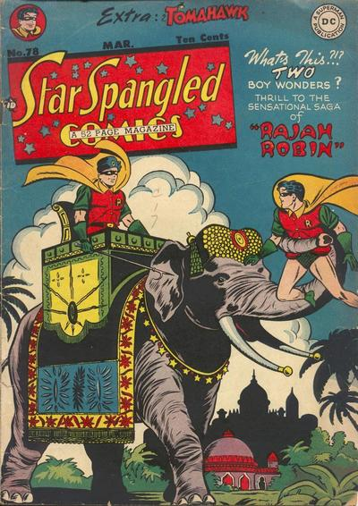 Cover for Star Spangled Comics (DC, 1941 series) #78