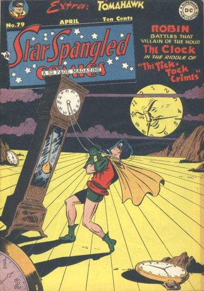 Cover for Star Spangled Comics (DC, 1941 series) #79