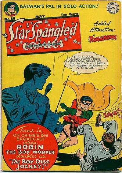 Cover for Star Spangled Comics (DC, 1941 series) #80