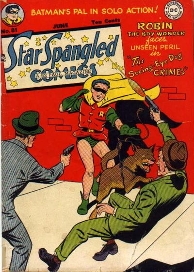 Cover for Star Spangled Comics (DC, 1941 series) #81
