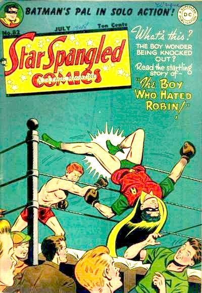 Cover for Star Spangled Comics (DC, 1941 series) #82