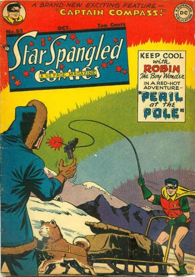 Cover for Star Spangled Comics (DC, 1941 series) #85