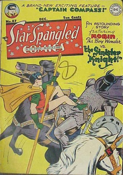 Cover for Star Spangled Comics (DC, 1941 series) #87