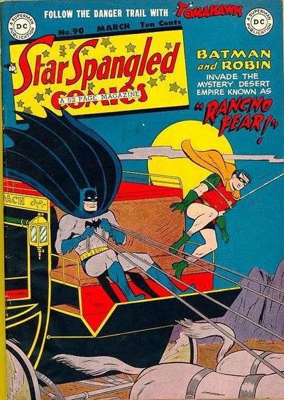 Cover for Star Spangled Comics (DC, 1941 series) #90