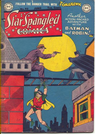 Cover for Star Spangled Comics (DC, 1941 series) #93