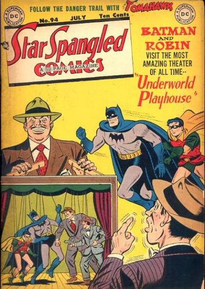 Cover for Star Spangled Comics (DC, 1941 series) #94