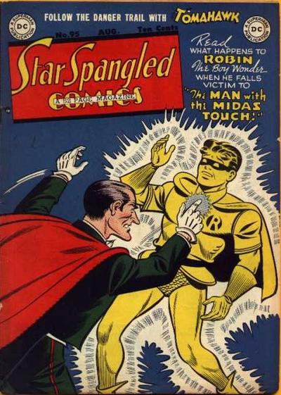 Cover for Star Spangled Comics (DC, 1941 series) #95