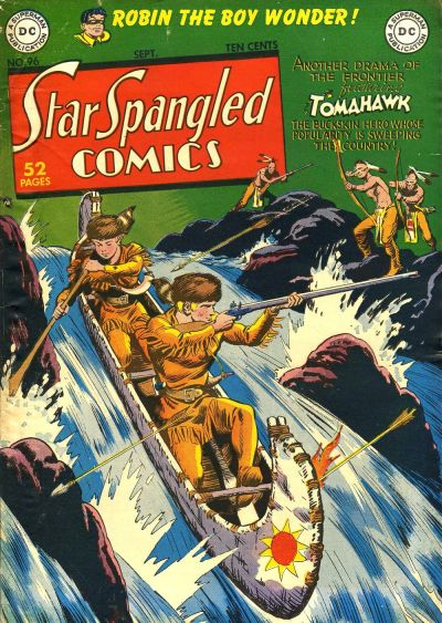 Cover for Star Spangled Comics (DC, 1941 series) #96