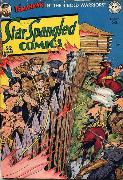 Cover for Star Spangled Comics (DC, 1941 series) #97
