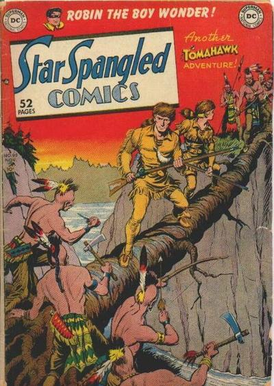 Cover for Star Spangled Comics (DC, 1941 series) #98