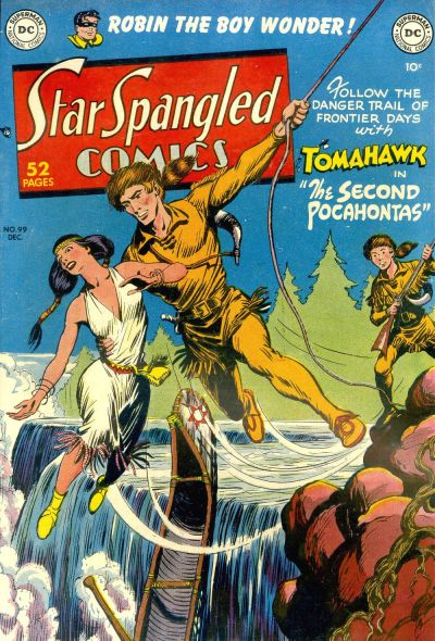 Cover for Star Spangled Comics (DC, 1941 series) #99