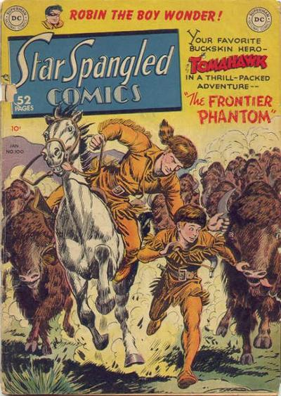 Cover for Star Spangled Comics (DC, 1941 series) #100
