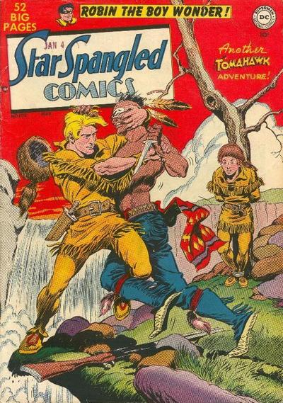 Cover for Star Spangled Comics (DC, 1941 series) #102