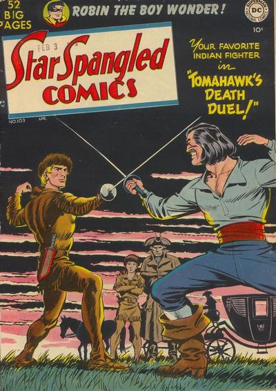 Cover for Star Spangled Comics (DC, 1941 series) #103