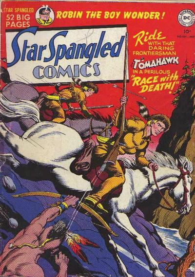 Cover for Star Spangled Comics (DC, 1941 series) #104