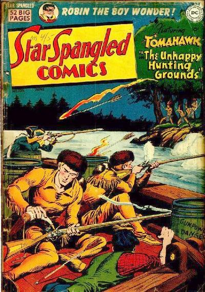 Cover for Star Spangled Comics (DC, 1941 series) #105