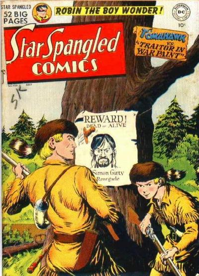 Cover for Star Spangled Comics (DC, 1941 series) #106