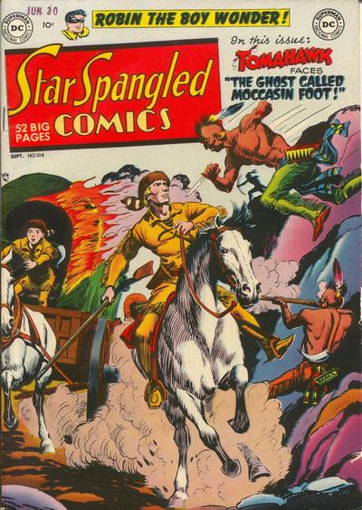 Cover for Star Spangled Comics (DC, 1941 series) #108