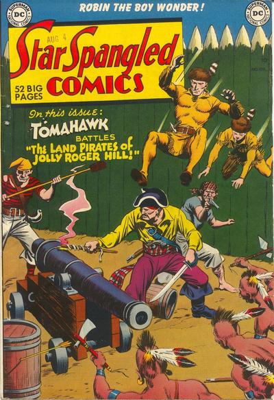 Cover for Star Spangled Comics (DC, 1941 series) #109