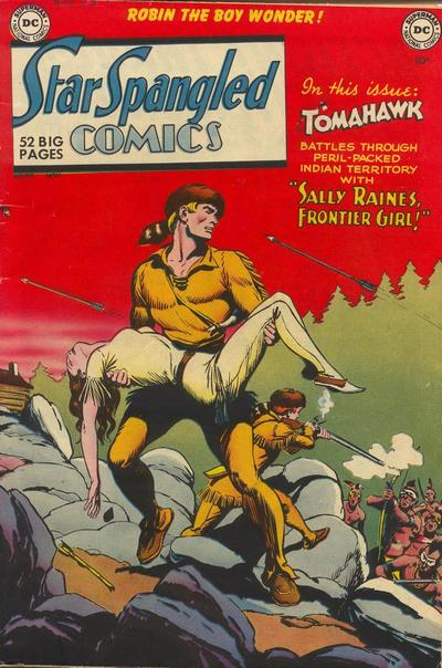 Cover for Star Spangled Comics (DC, 1941 series) #110