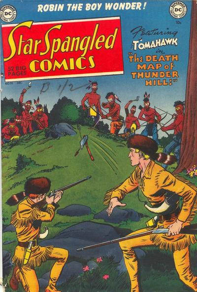 Cover for Star Spangled Comics (DC, 1941 series) #111