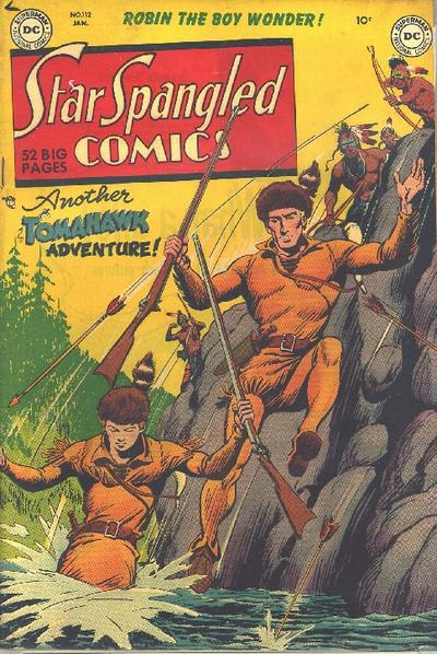 Cover for Star Spangled Comics (DC, 1941 series) #112