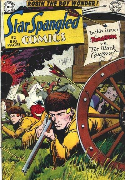 Cover for Star Spangled Comics (DC, 1941 series) #113