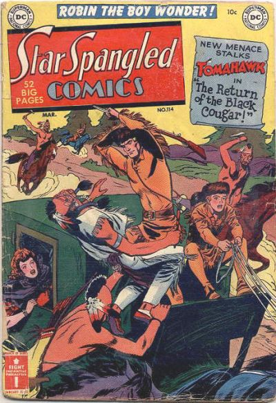 Cover for Star Spangled Comics (DC, 1941 series) #114