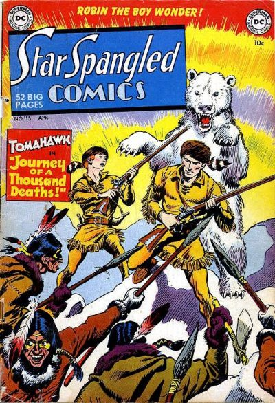 Cover for Star Spangled Comics (DC, 1941 series) #115