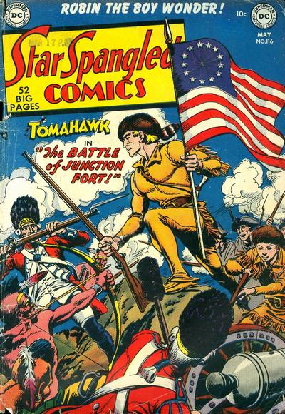 Cover for Star Spangled Comics (DC, 1941 series) #116