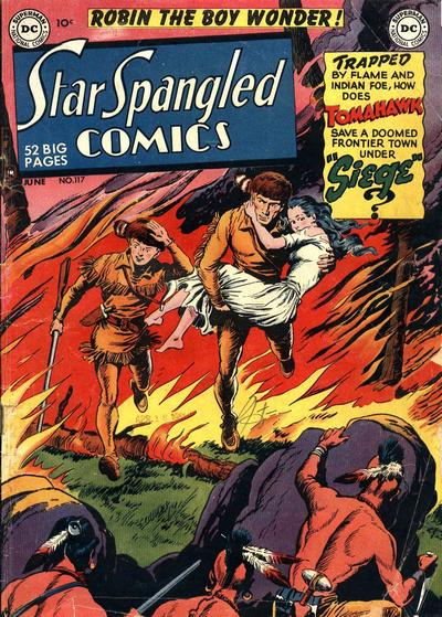 Cover for Star Spangled Comics (DC, 1941 series) #117