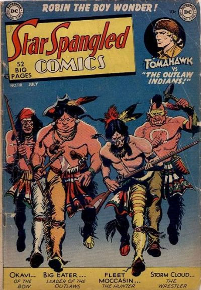 Cover for Star Spangled Comics (DC, 1941 series) #118