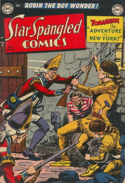 Cover for Star Spangled Comics (DC, 1941 series) #121