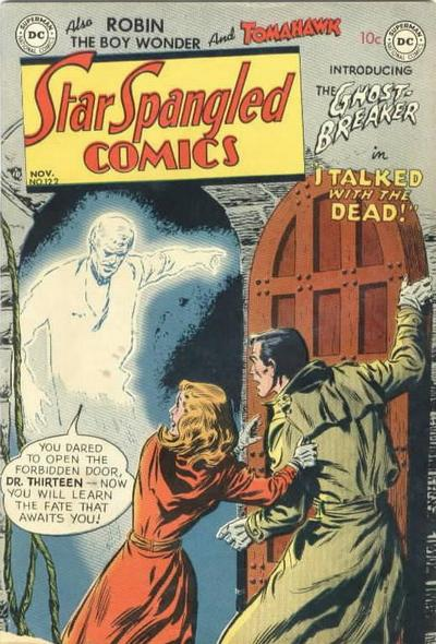 Cover for Star Spangled Comics (DC, 1941 series) #122