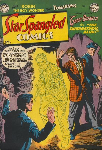 Cover for Star Spangled Comics (DC, 1941 series) #127