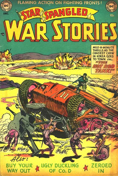 Cover for Star Spangled War Stories (DC, 1952 series) #4