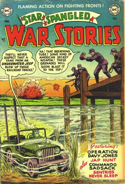 Cover for Star Spangled War Stories (DC, 1952 series) #6