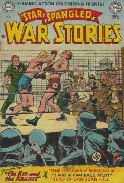 Cover for Star Spangled War Stories (DC, 1952 series) #12