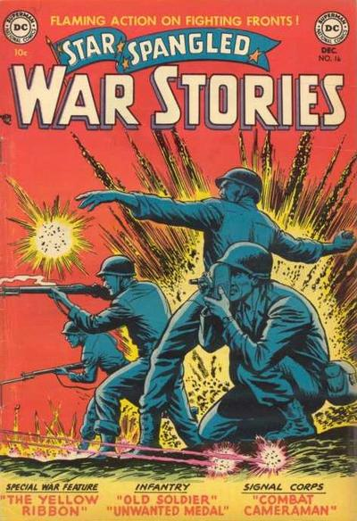 Cover for Star Spangled War Stories (DC, 1952 series) #16