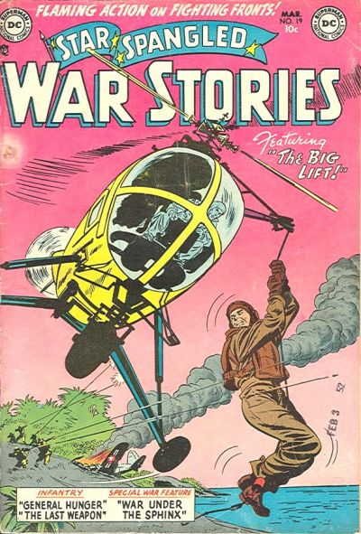 Cover for Star Spangled War Stories (DC, 1952 series) #19