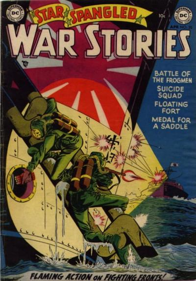 Cover for Star Spangled War Stories (DC, 1952 series) #20
