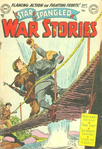 Cover for Star Spangled War Stories (DC, 1952 series) #21